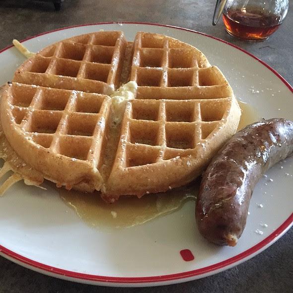 Maple Cinnamon Waffle @ Founding Farmers