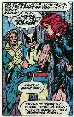 X-Men #98 panel