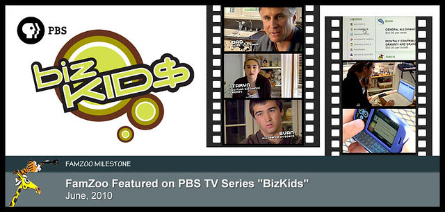 "June 2010: FamZoo Featured on PBS TV Series ""BizKids"""