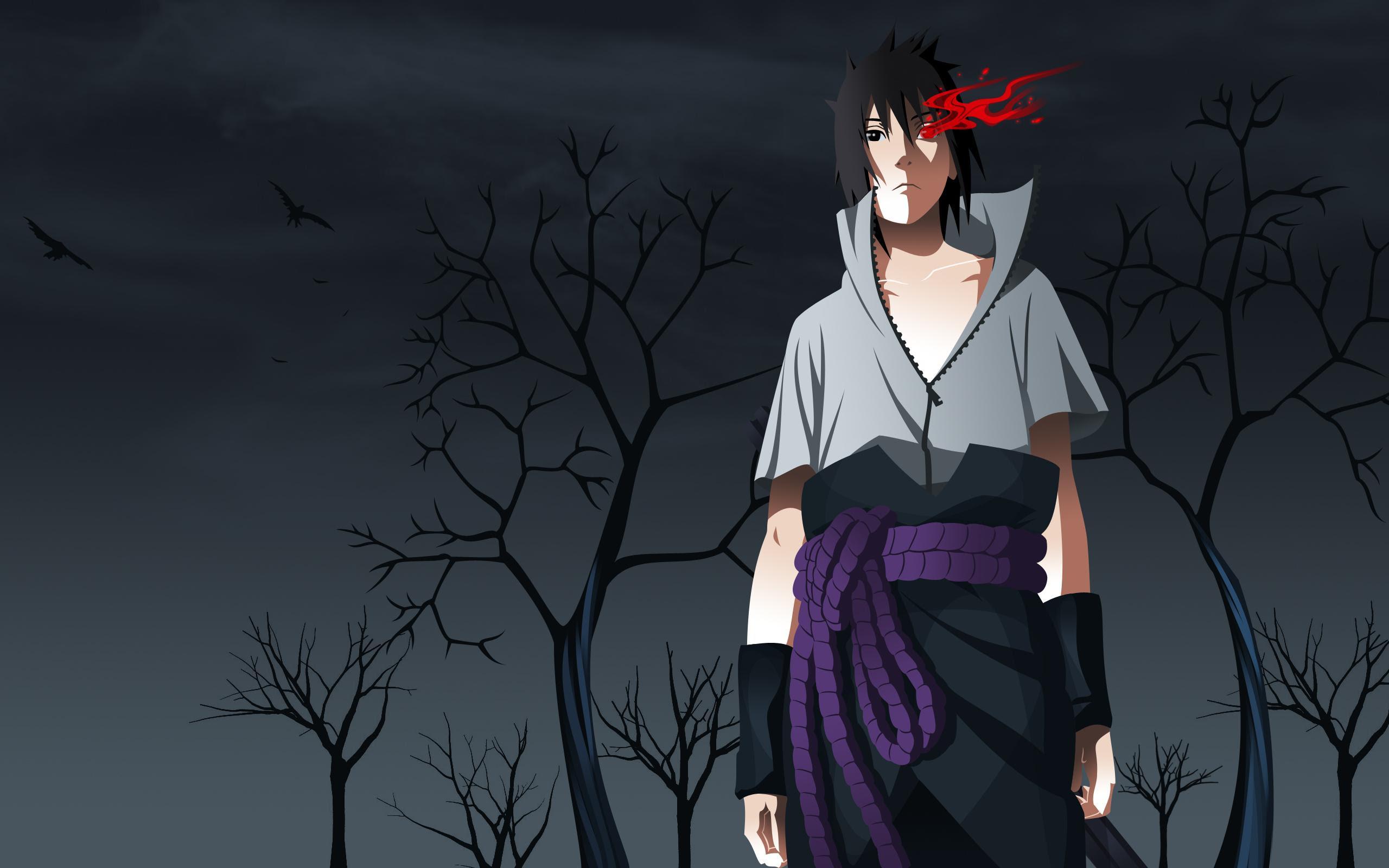 Sasuke Uchiha Wallpapers - WallpaperSafari