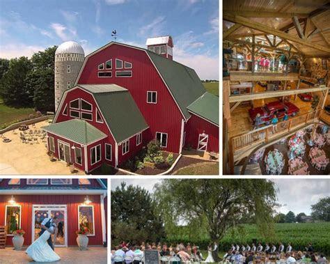 12 Northern Illinois Barn Wedding Venues   Markee Weddings