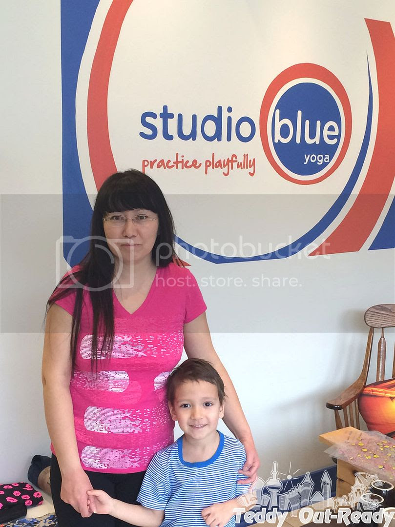 Studio Blue Yoga Kinder and Parent