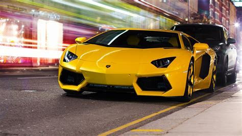 Lamborghini Aventador Yellow Wallpaper Hd 1920x1080   image #575