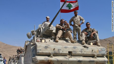 Lebanon, Hezbollah suspend ISIS fight for soldiers' release
