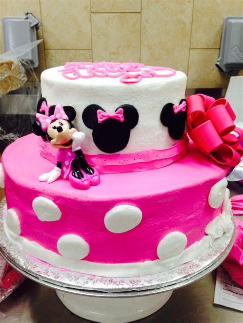 minnie mouse cake  tier cake walmart cake walmart