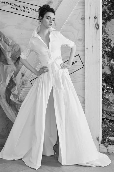 Carolina Herrera Spring 2017 Collection: Bridal Fashion