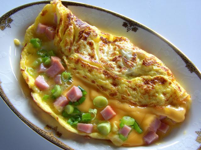 Folded French Omelet
