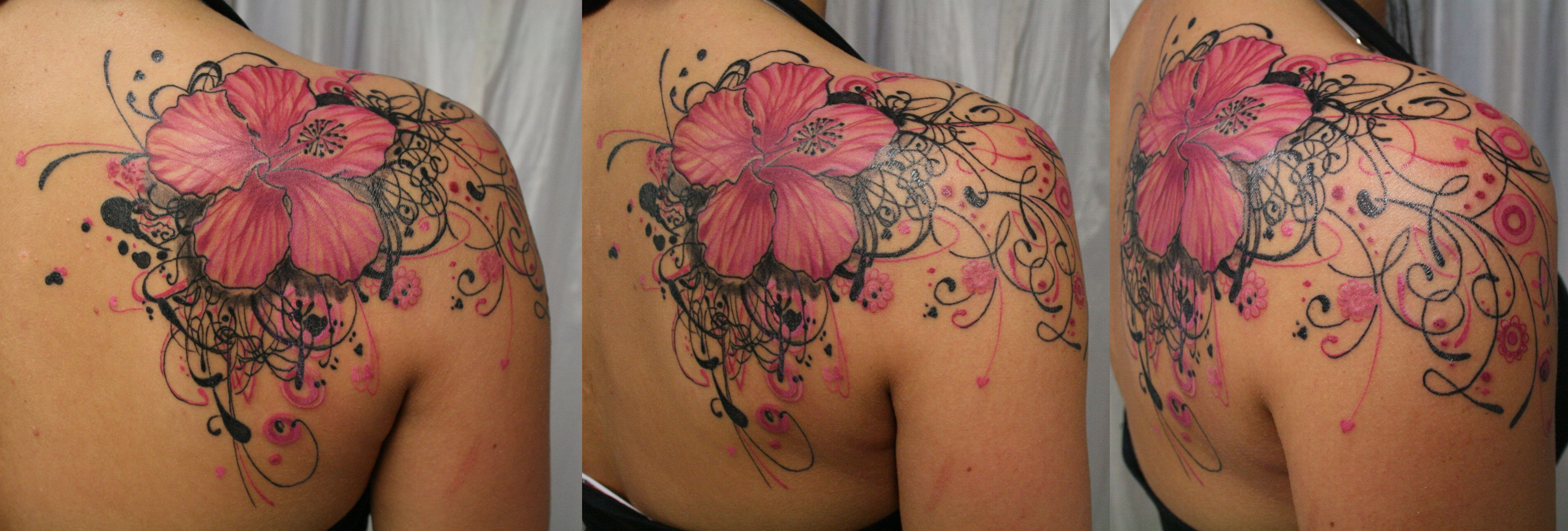 Jonat Choice Pictures Of Flower Tattoos On Shoulder