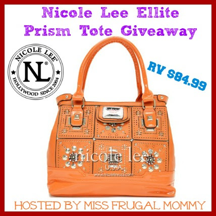 Enter to win a Nicole Lee Handbag ARV $85 by 12/24 at midnight.