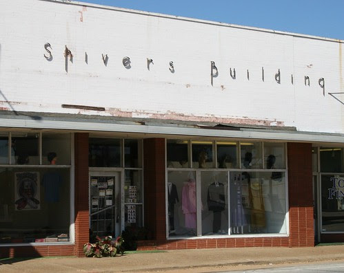 shivers buidling in crockett