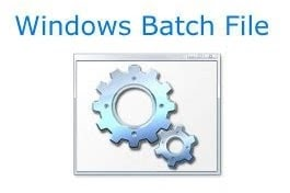 Create a batch file (The funny part)