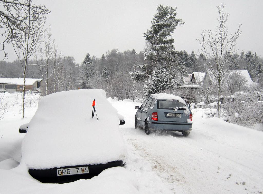 The Winter Saab