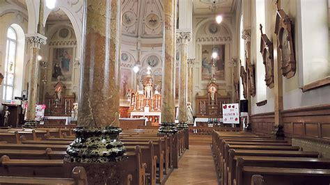 What is so special about St. Bernard's Church in Fournier