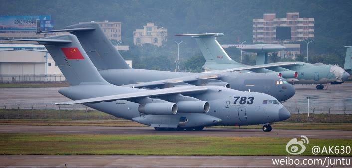 Comparison Y-20 C-17