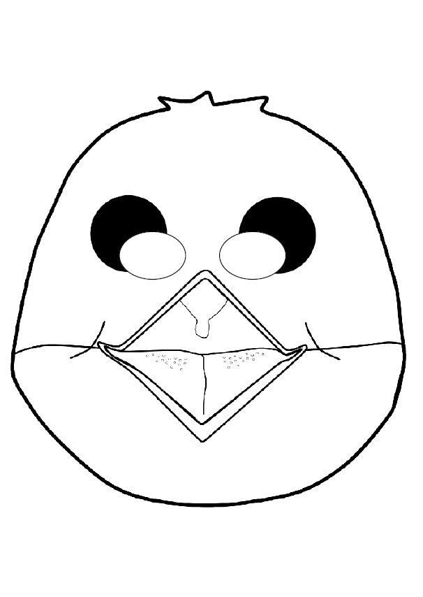 Kağıttan Kuş Maskesi