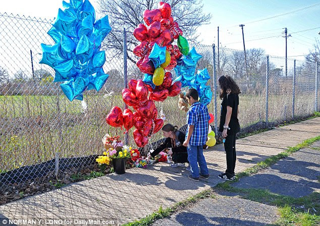 Tributes are being laid at the scene of Steve Stephens' Facebook  murder of Robert Goodwin. The father and grandfather was walking on the sidewalk when the killing was broadcast