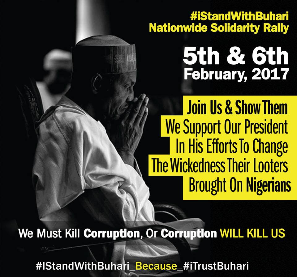 BAD MEETS EVIL: I STAND WITH BUHARI GROUP FIX THEIR OWN SOLIDALITY RALLY ON THE SAME DAY AS THAT OF 2FACE