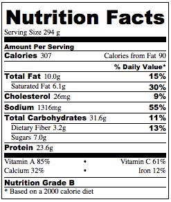 Nutrition Crockpot Veggie Lasagna