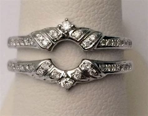 50 best Solitaire Ring Enhancers and Wraps images on