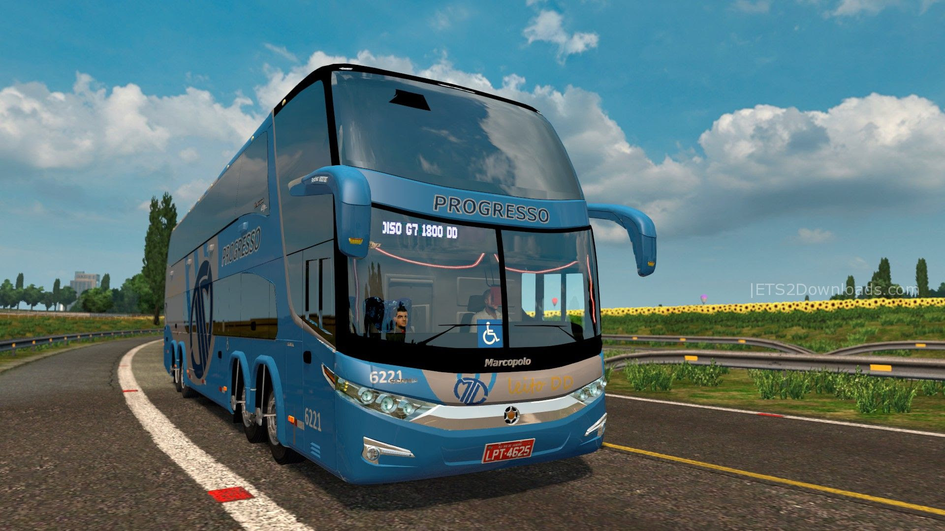Marcopolo Paradiso G7 1800 Dd Ets2 Mods