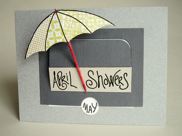 April Showers PTI Sliders Die Card