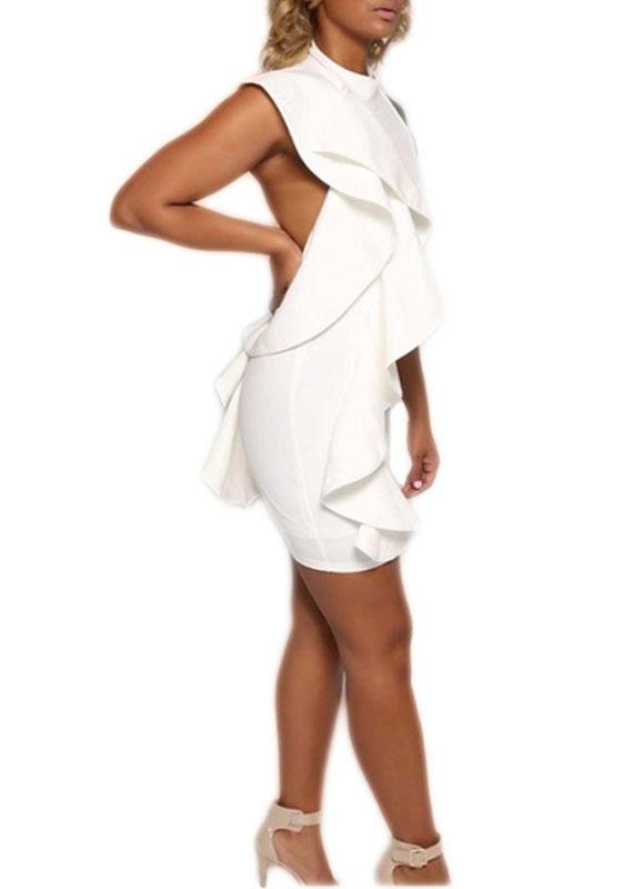Sexy contemporary plus size bodycon dresses ladies knee