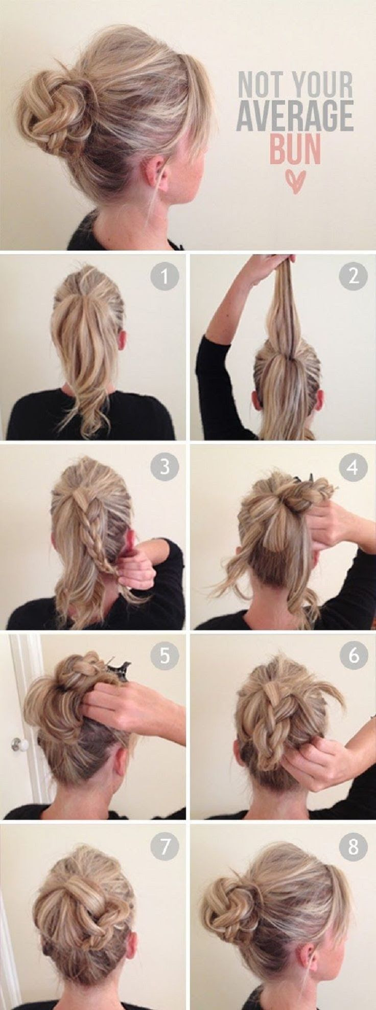 15 How To Do Hair Bun Hairstyle