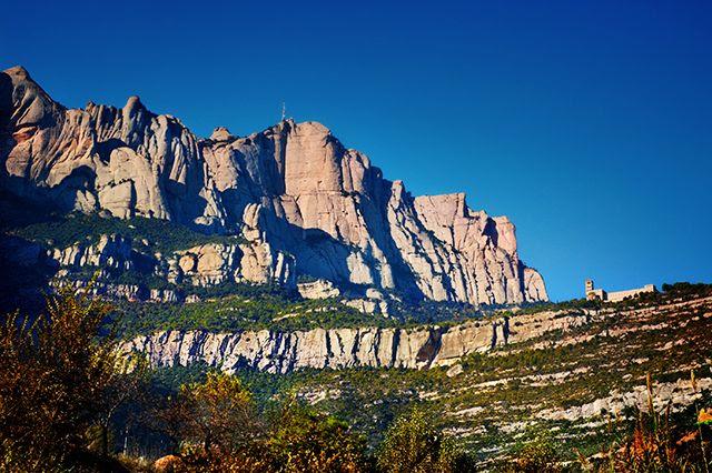 Montserrat near Barcelona, Spain [enlarge]