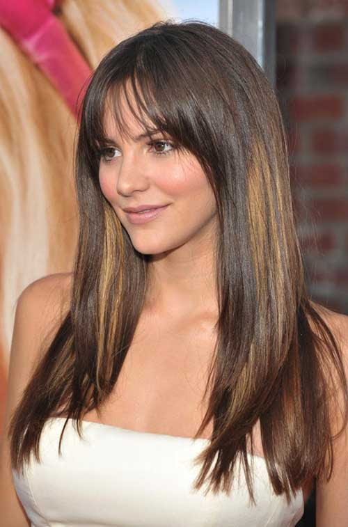 15 Best Hairstyles  for Round  Faces  Long  Hair  Hairstyles