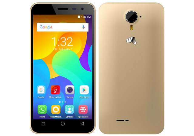 Micromax Launches Spark Vdeo with Snapdragon 210, 4G VoLTE