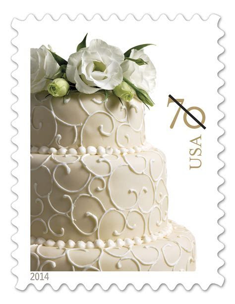 USPS Wedding Postage Designs   Perfect Postage