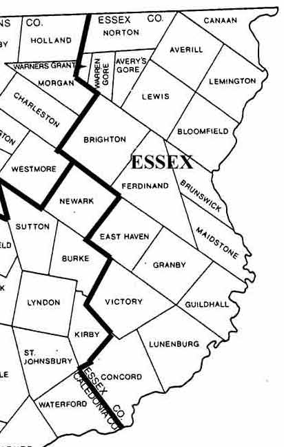 Image Result For Maps Of Vermont
