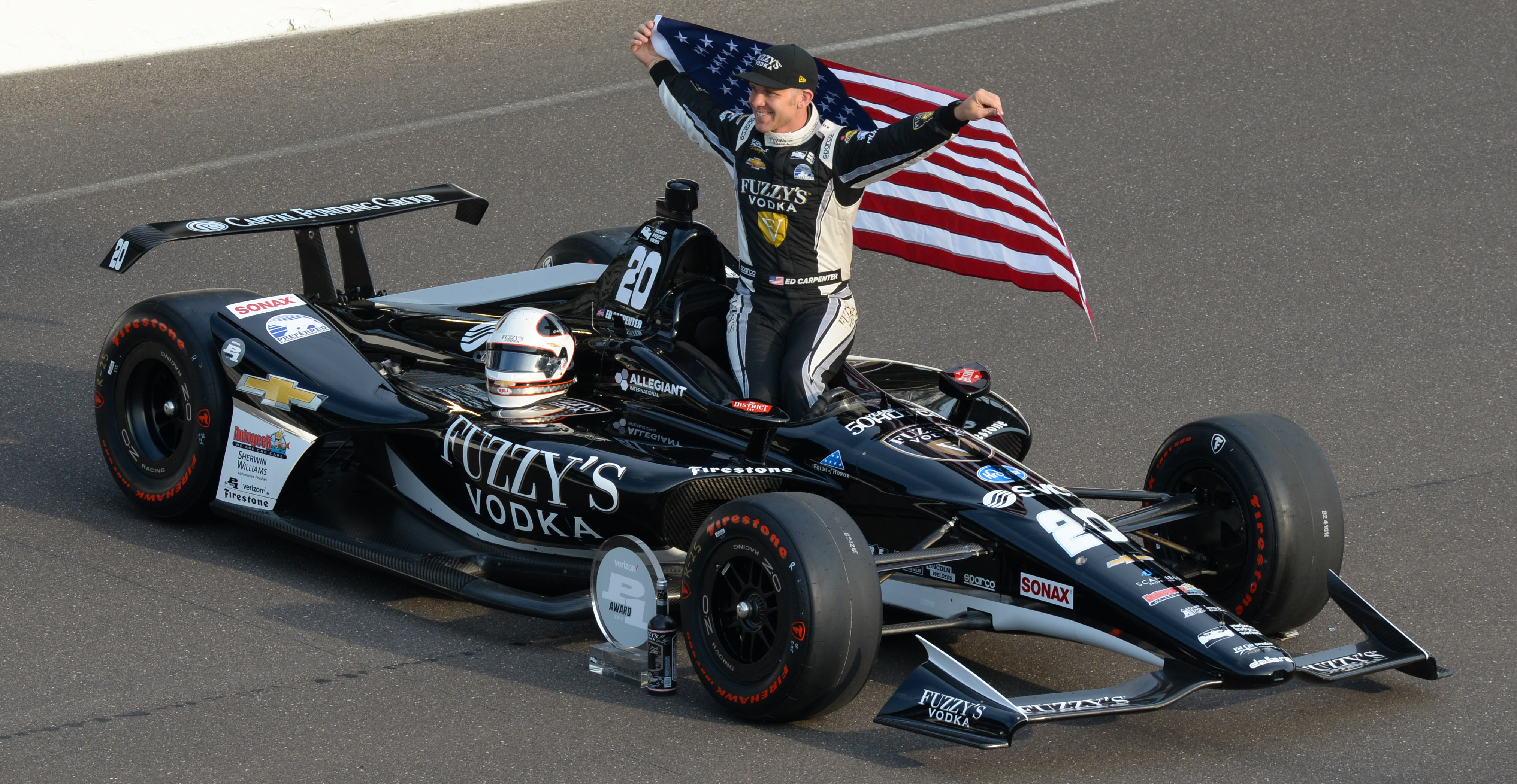 Capital Funding Group To Partner With Ed Carpenter Racing