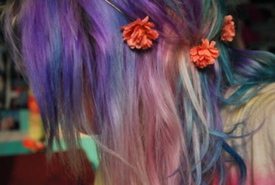 Μαλλιά ουράνιο τόξο (14)