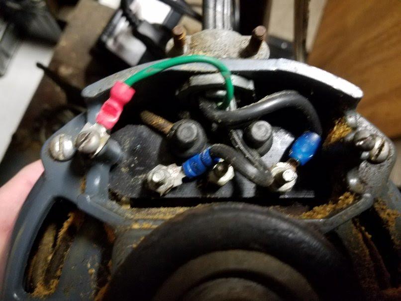 Old Motor Wiring Diagram