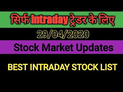 29 APR 2020 | Top stock to buy for tomorrow | Best way to buy intraday s...