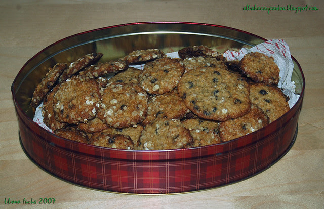 oatmeal raisin box
