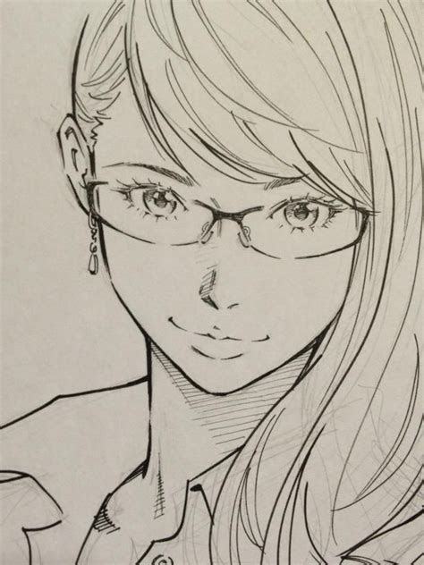 drawing glasses reference google search anime sketch