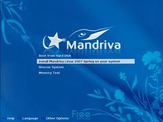 Mandriva Installation Screenshot 1
