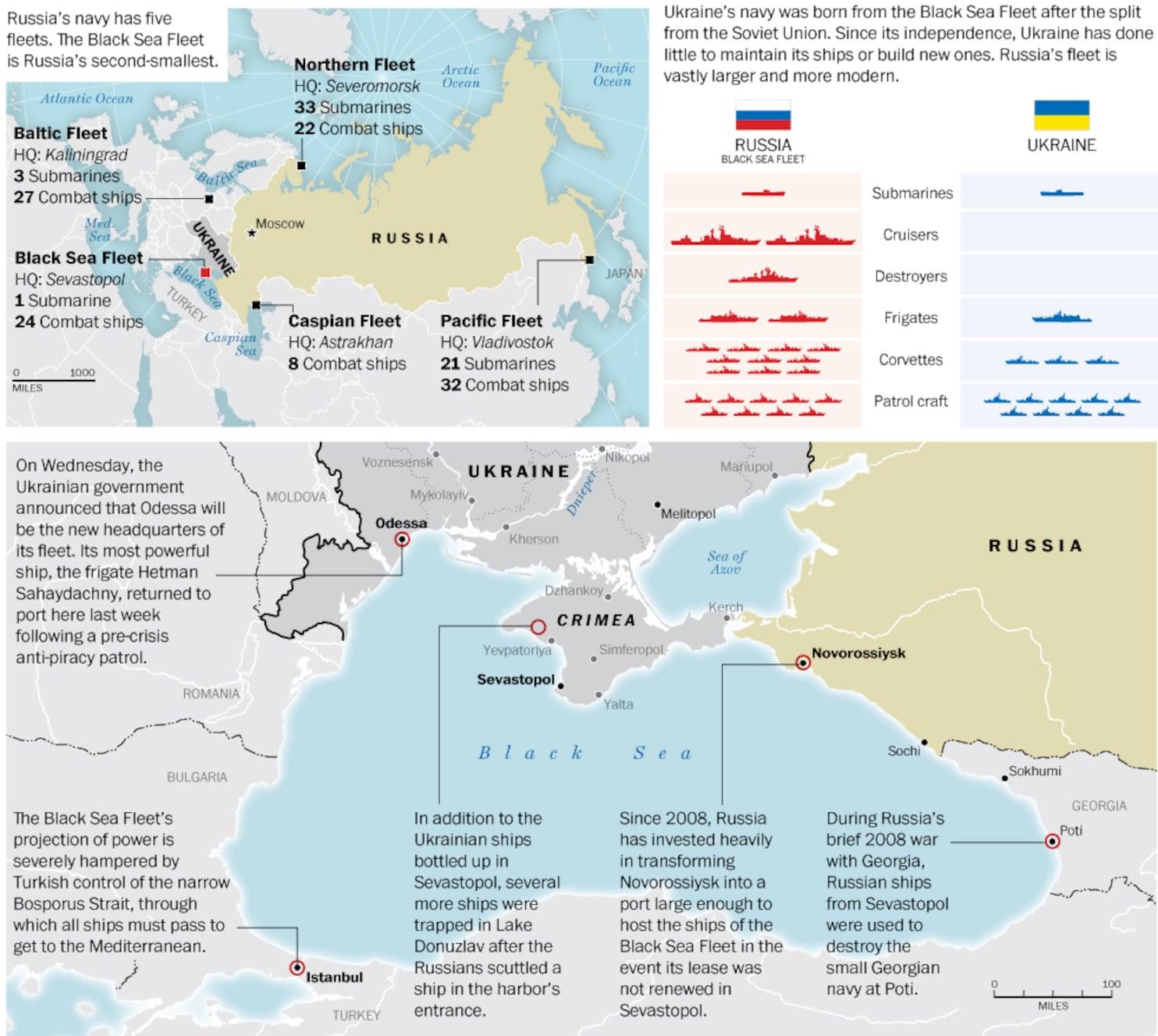 Russias Black Sea Fleet The Washington Post