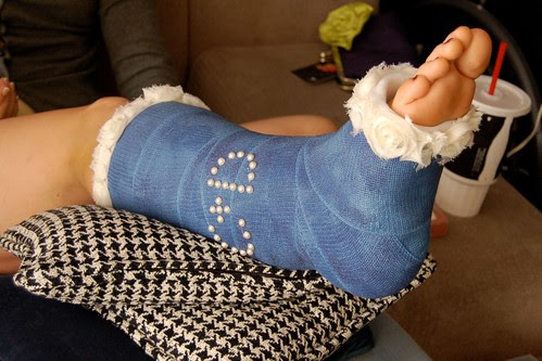 Blinged out cast