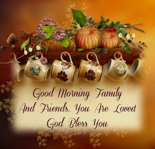 Good Morning Family Pictures Photos And Images For Facebook