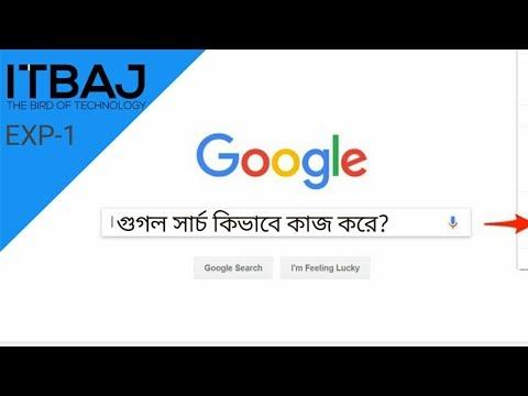 How Google Search Works? - গুগল সার্চ কিভাবে কাজ করে