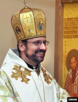 Новообраний глава Української греко-католицької церкви, Блаженніший Святослав Шевчук