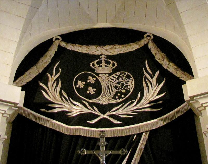 les armoiries de Marie-Antoinette
