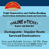 OceanJet Dumaguete-Siquijor Route