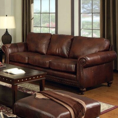 Nailhead Trim Upholstery Sofa   Wayfair