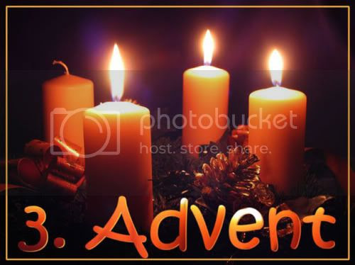 Candle, 3:dje Advent