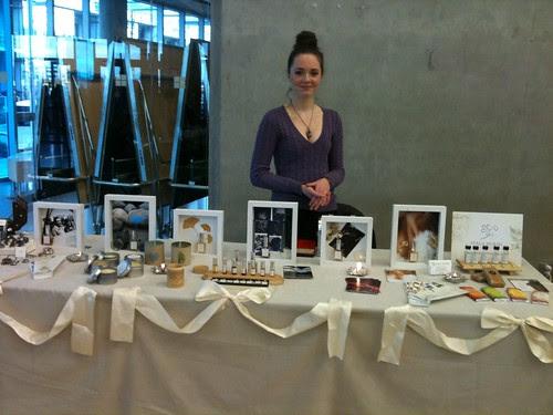 Alicia, My Amazing Helper @ Portobello West November 2012 Market