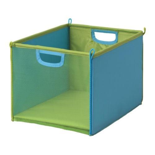 KUSINER Laatikko IKEA Kätevä säilytysratkaisu pienille tavaroille. Helppo taittaa kokoon tilan säästämiseksi.
